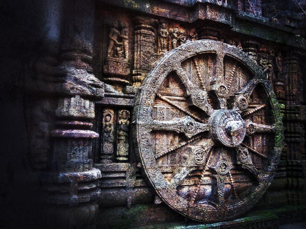 Saturn-Pluto, India, Wheel