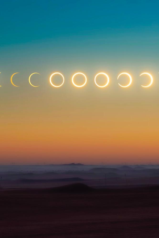 Annular Solar Eclipse in Gemini 2021, cover
