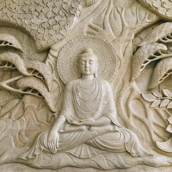Bassorilievo del Buddha