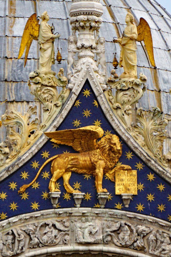 Leone di San Marco, Basilica di San Marco, Venezia